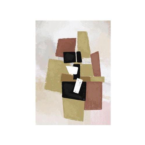 Consalnet Kanwa abstrakcja brązowa 70 x 100 cm (5903011053735)