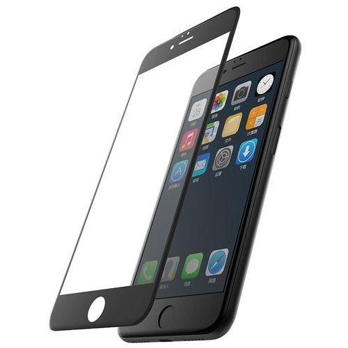 X-doria revel clear szkło hartowane 9h na cały ekran iphone 8 / 7 / 6s / 6 (czarna ramka) (6950941461870)