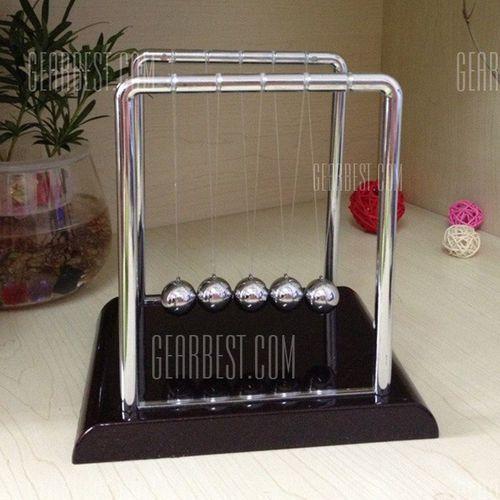 1cm Balance Ball Newton Cradle Physical Pendulum Educational Toy - sprawdź w wybranym sklepie