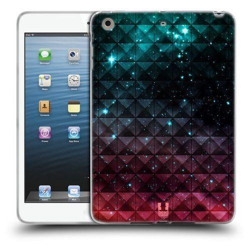 Etui silikonowe na tablet - Studded Ombre Printed Sparkling Red And Blue, kolor niebieski