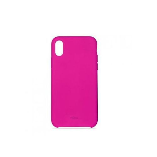 Puro Etui icon cover do iphone x różowe