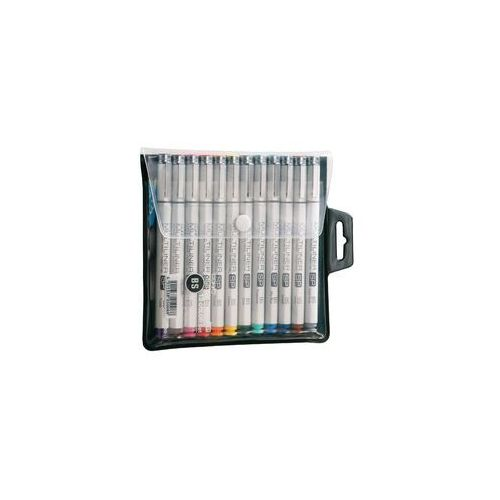 Copic  multiliner sp cienkopisy brush 12 kol (4511338050088)