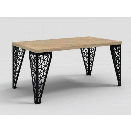 Stół z metalowymi nogami Eros dąb craft, DA-0057