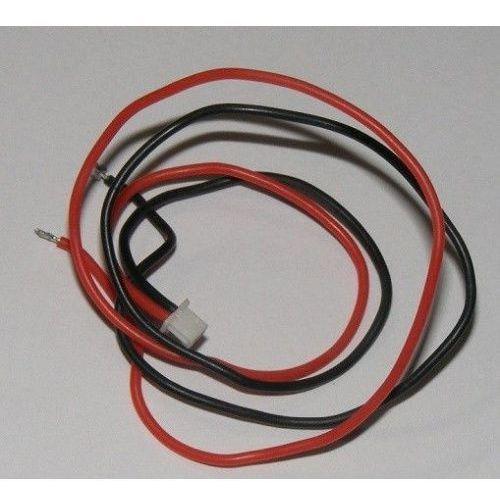 Przewody z wtyczką (czerwony i czarny) do silników, diod LED, do mini dronów i helikopterów