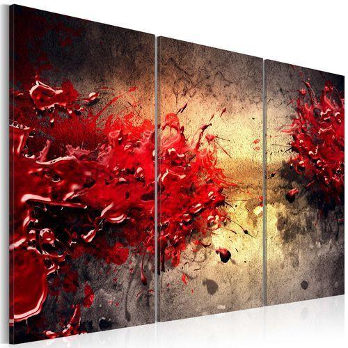 Obraz - Czerwony splash