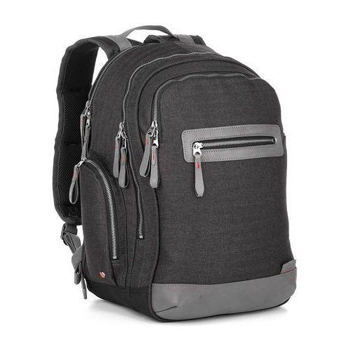 Stylowy plecak effi 18002 g - grey marki Topgal