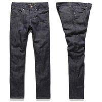 spodnie KREW - K Skinny Denim Raw Blue (RAW) rozmiar: 26, kolor niebieski