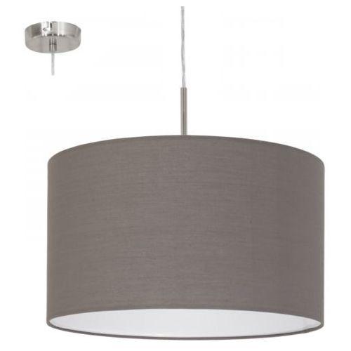 Lampa wisząca pasteri antracyt - 38 cm, 31574 marki Eglo