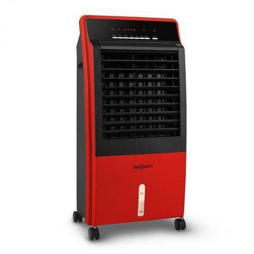 OneConcept CTR-1 v2 schładzacz powietrza 4-w-1 klimatyzator mobilny 65 W czerwon (4260435919117)