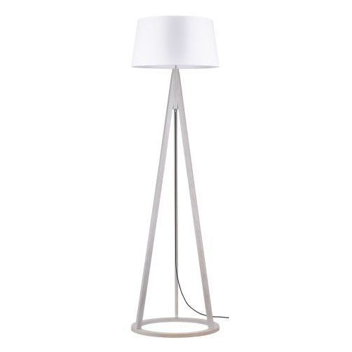 Spot light Lampa podłogowa konan dąb bielony/antracyt/biały e27 60w (5901602336878)