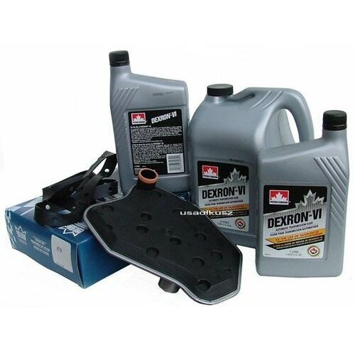 Filtr oraz olej Dextron-VI automatycznej skrzyni biegów 4R70W Mercury Marauder 2003-2004