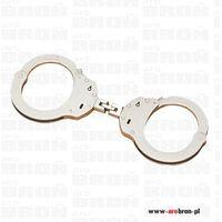 kajdanki policyjne 1-zawiasowe profesjonalne nikiel 5230 marki Alcyon