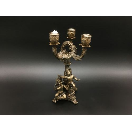 Potrójny świecznik z aniołami (wu74375a4) marki Veronese