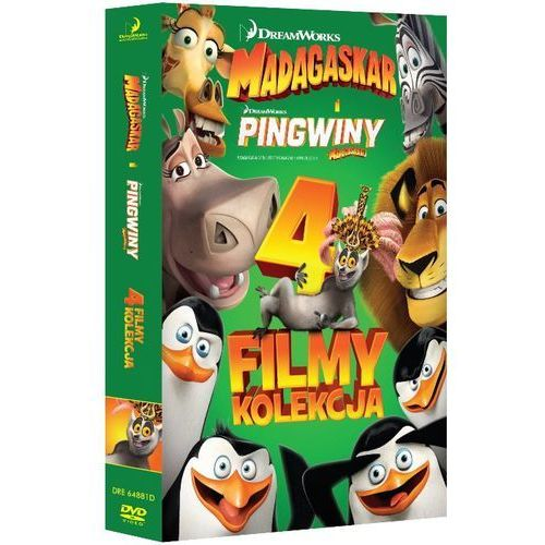 Kolekcja: Madagaskar. Części 1-3 / Pingwiny z Madagaskaru (DVD) - Darnell Eric (5903570156939)