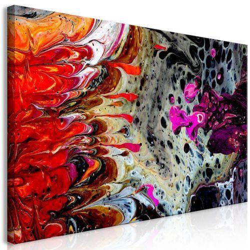 Obraz - fuzja farb (1-częściowy) szeroki marki Artgeist