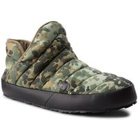 Kapcie THE NORTH FACE - Thermoball Traction Bootie T93MKH5QU Tarmac Green Macrofleck Print/Tumbleweed Green