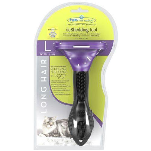 FURminator deShedding Tool dla kota - Duże koty / długość sierści powyżej 5 cm (8117940113454)