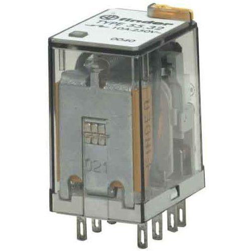 Przekaźnik przemysłowy 2 CO (DPDT) 12VAC 55.32.8.012.0040, 55-32-8-012-0040