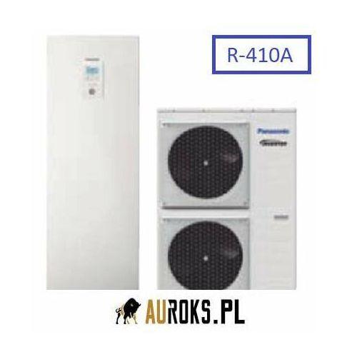 aquarea high performance niskotemp. 3-fz pompa ciepła 12/10 kw typu all in one do grzania i chłodzenia - kit-adc12he8 marki Panasonic