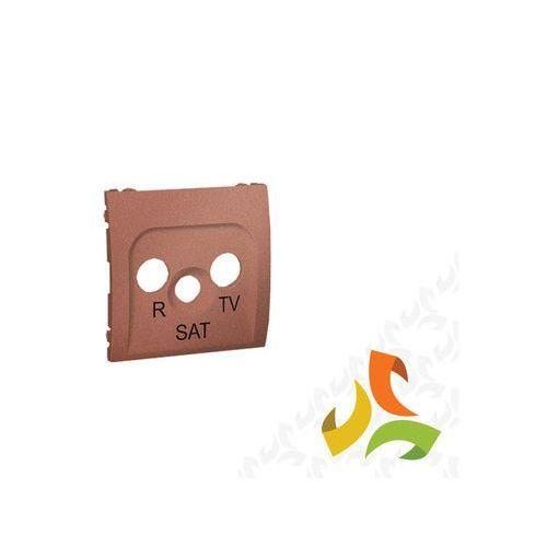Pokrywa gniazda RTV-SAT, miedziany metalik MASP/24 SIMON CLASSIC