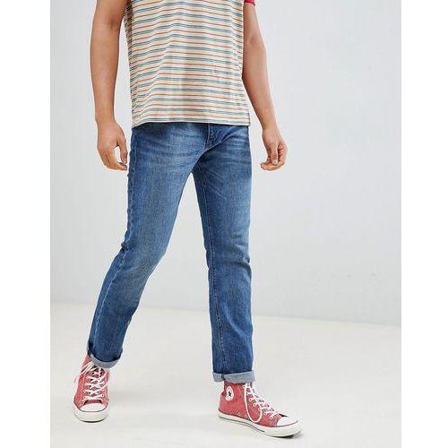 Esprit Straight Fit Blue Jean In Organic Cotton - Blue