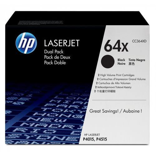 HP Inc. Toner P4015/4515X Dwupak Czarny 24k P4015/4515X CC364XD, CC364XD