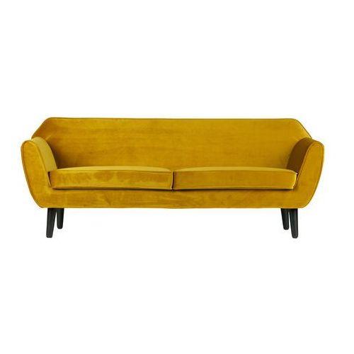 Woood sofa rocco musztardowa 340451-o (8714713069934)