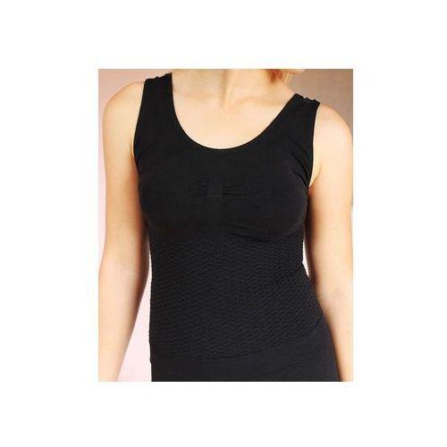Bye cellulite damska koszulka antycellulitowa, wyszczuplająca, modelująca z nanosrebrem - beautysan marki Czsalus (włochy)