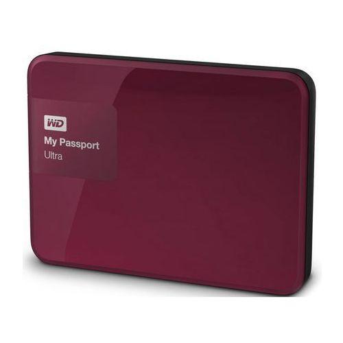 Western Digital MY PASSPORT ULTRA 3TB jagodowy, WDBBKD0030BBY-EESN