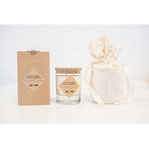 Świeca sojowa - Waniliowa słodycz z sakiewką 200 ml