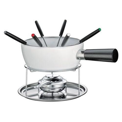 Kuchenprofi Zestaw do fondue serowego 1,4 l lausanne biały