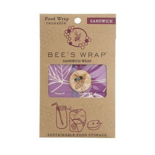 Bee's Wrap Woskowijka do kanapek, fiolet