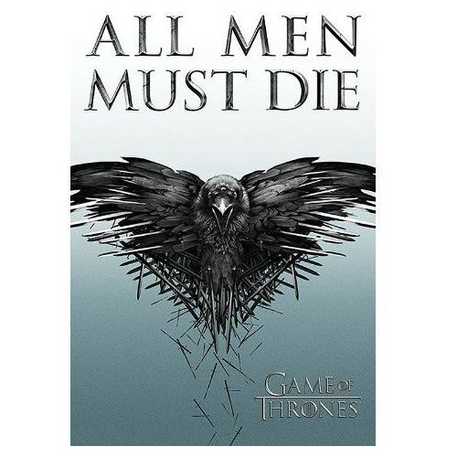 Gra o tron all men must die - plakat, marki Gf