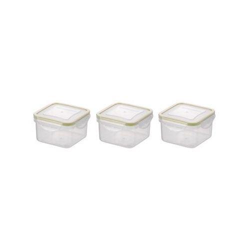 mini pojemnik kwadratowy freshbox 3 szt. marki Tescoma