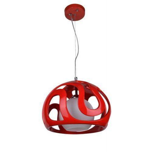 Lampex Lampa wisząca akiba czerwona 325/1 cze - - sprawdź kupon rabatowy w koszyku