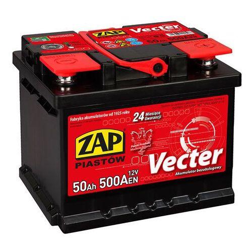 Akumulator ZAP Vecter 50Ah 500A PRAWY PLUS