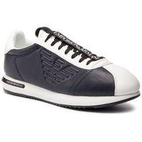Emporio armani Sneakersy - x4x260 xl709 a042 white/night/white