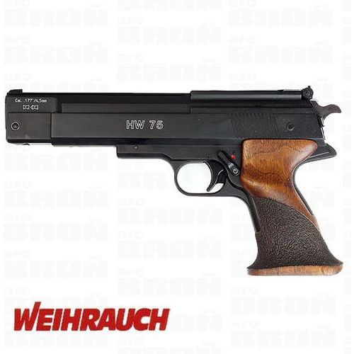 Pistolet wiatrówka WEIHRAUCH HW-75 HW75 PCA dla osób prawo- i leworęcznych