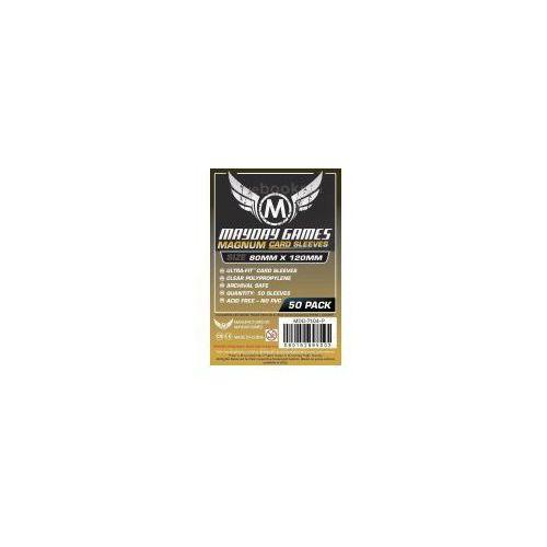 Koszulki magnum gold 120x80 czarne (50szt) mayday marki Mayday games