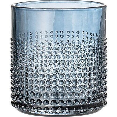 Bloomingville Szklanka z bąbelkami niebieska
