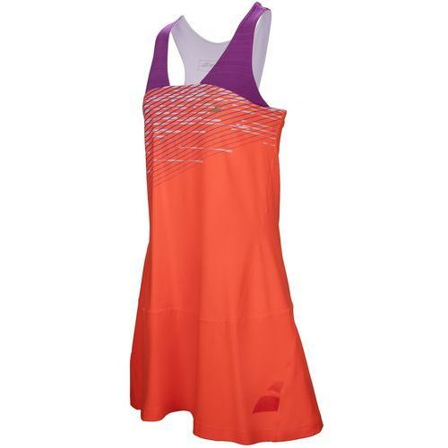 Babolat  performance racerback dress girl - fluo strike