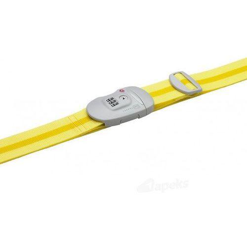 Go travel dg/342 pas do zabezpieczenia bagażu - żółty