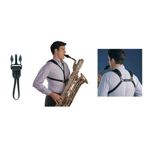 pasek saksofonowy soft harness kolor: czarny, dł. 33-44,4 cm marki Neotech