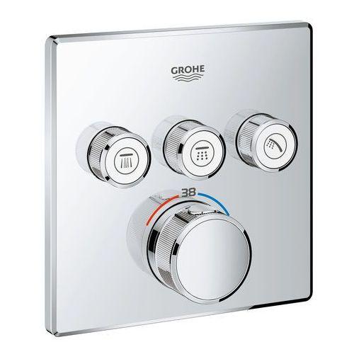 bateria termostatyczna do obsługi trzech wyjść wody grohtherm smartcontrol 29126000 marki Grohe