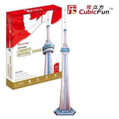 Puzzle 3D Canada's National Tower 48