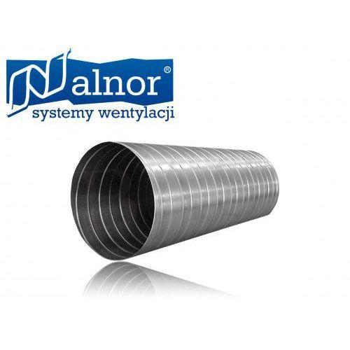 Kanał spiro (rura) z blachy ocynkowanej 0,4mm (1,5mb) 125mm (spr-c-125-040-0150) marki Alnor