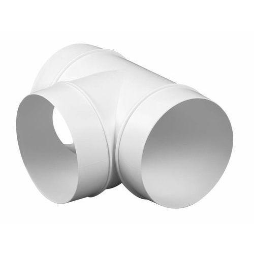 Awenta Trójnik kanału wentylacyjnego okrągłego abs ko100-26 - dn 100