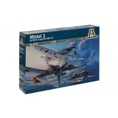 ITALERI Mistel 1 Ju 88 A-4 and BF 109 F4 (8001283000727)