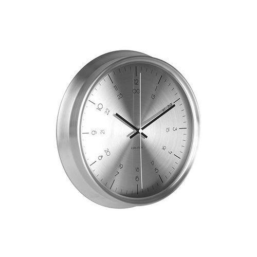 Zegar ścienny Nautical stainless steel steel by Karlsson