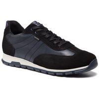 Sneakersy WOJAS - 9056-71 Czarny/Granat, kolor niebieski